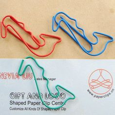 saxophone shaped paper clips