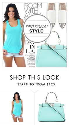 """""""# I/9 Miami Style"""" by lucky-1990 ❤ liked on Polyvore featuring Fendi and Miu Miu"""