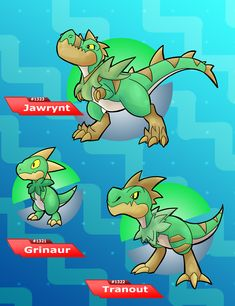 The jaw trap dinosaur pokemon