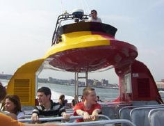 The Many Things You Can Do While in NYC with Teens: Harbor Tour (- The Beast)