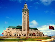 The Hassan II Mosque (Morocco)