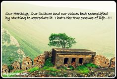 Spectacular view of Alwar Fort