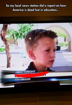 "Local News Station Fails - Local news didn't fail.  Who failed was the parents of the person who can't spell.  Parenting is Hard Work, diligence persistence, and enough love to tough it out and enable your child to succeed.  If you are a ""convenience"" parent, who relies on tv, video games, or other distractions to keep your kids out of your hair while you Facebook, tweet or whatever, then you fail.  Your kids fail, and we all lose on a grand scale.  A solid education opens doors.  A…"