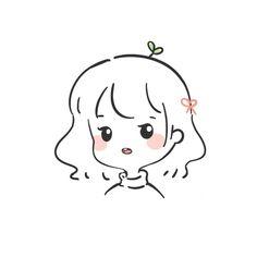 Cute Little Drawings, Cute Easy Drawings, Cute Cartoon Drawings, Cute Kawaii Drawings, Kawaii Art, Cartoon Art, Kawaii Doodles, Cute Doodles, Illustration Art Drawing