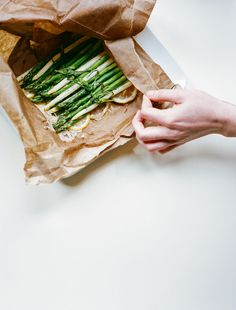 From the Wilder Quarterly Spring 2013 issue: Asparagus shot by Brian Ferry.