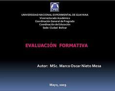 Evaluación Formativa - Aspectos Fundamentales   #Presentación #Educación