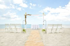 Picture your perfect moment here on the beach of 'Tween Waters Inn.
