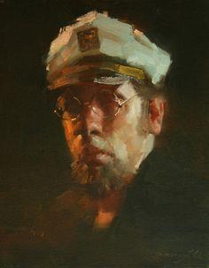 Portraits - Zhaoming Wu - Captain, 14x11