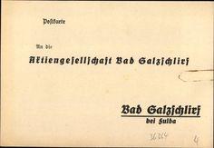 Bestellkarte für Bonifatiusbrunnen 1930er Jahre Vorderseite