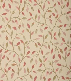 Voyage Decoration Malvern Fabric / Rosehip