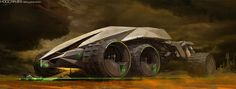 Concept cars and trucks: Vehicle concept art by Jakub Mathia