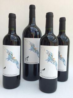 Special wine design for Crowne Plaza Brugge 25th anniversary - Les Monicord wine Bordeaux AOP