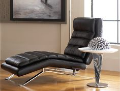Modern black lounge from the CORT Signature Collection 2013