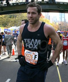 I'd chase him for 26.2 miles