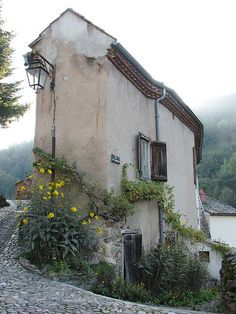 cottage in Auzon - France wwonderfulworld: Cottages / ~ I love this cottage in Auzon - France no We Heart It. http://weheartit.com/entry/56224153/via/kidstonscottage