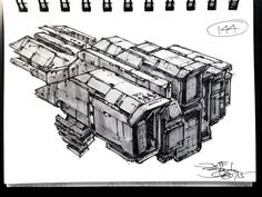 Spaceship Art, Spaceship Design, Cool Sketches, Drawing Sketches, Sci Fi Rpg, Star Wars Spaceships, Space Engineers, Space Travel, Space Crafts