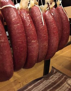 I'm not a huge fan of processed meat products, so I'll show you how to make ring bologna at home. Learn how to prepare, stuff and cook a fresh sausage with Venison Ring Bologna Recipe, Deer Bologna Recipe, Smoked Bologna Recipe, Bologna Recipes, Trail Bologna Recipe, Salami Recipes, Homemade Sausage Recipes, Jerky Recipes, Venison Recipes