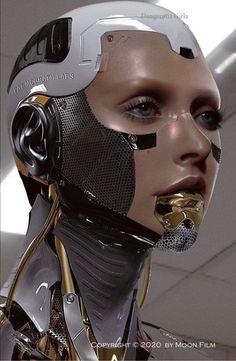 Cyberpunk Girl, Arte Cyberpunk, Cyberpunk Character, Cyberpunk 2077, 3d Character, Character Concept, Cyborg Girl, Female Cyborg, Human Cyborg