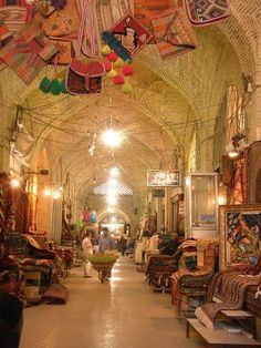 Iran, Shiraz Bazaar
