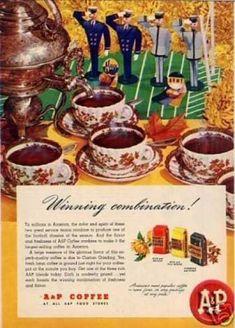 "A Coffee Ad ""Winning Combination... (1946)"