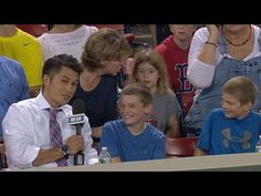 Boy Gets Foul Ball, Gives It To Little Girl Behind Him At Boston Red Sox Game