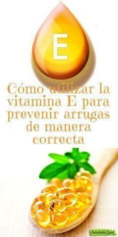 utilizar la vitamina E para prevenir arrugas de manera correcta.Cómo utilizar la vitamina E para prevenir arrugas de manera correcta. Beauty Care, Diy Beauty, Beauty Skin, Beauty Hacks, Health And Beauty, Face Care, Body Care, Nails And More, Beauty Recipe