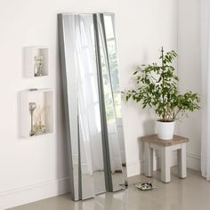 Silver Rectangular Leaner x - available to buy online or at Choice Furniture Superstore UK on stockist sale price. Get volume - discount with fast and Free Delivery. Extra Large Mirrors, Funky Mirrors, Freestanding Mirrors, Frameless Mirror, Glass Mirrors, Wall Mirrors, Hallway Mirror, Floor Mirror, Living Room Mirrors