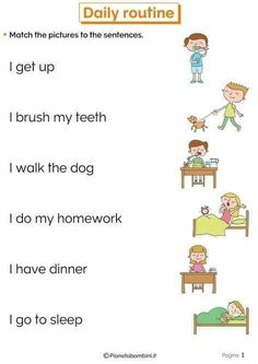 English Activities For Kids, English Grammar For Kids, Learning English For Kids, Teaching English Grammar, English Lessons For Kids, English Worksheets For Kids, Kids English, Learn English Words, English Language Learning