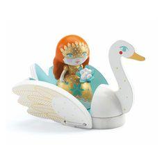 Arty Toys: Princesses: Barbara & Ze Swan - Djeco-06764