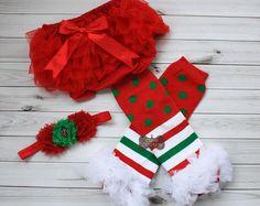 CHRISTMAS LEG WARMERS set-Ruffled Leg Warmers,Red and White Stripe-Leg Warmers-Shabby Chic-Baby Leg Warmers-Girls Leg Warmers-Set-xmas-red