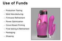 How are we going to use the funds? Check this out.