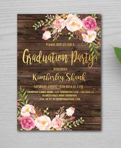 Graduation Party Invitations College Invitation