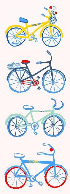 #Ilustração #Bicicleta #bicicletarte