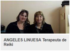 Angeles Linuesa, terapeuta de Reiki Reiki