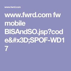 www.fwrd.com fw mobile BISAndSO.jsp?code=SPOF-WD17