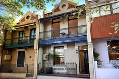 Origins and Attributes: Why Was Your Outdoor Space Built That Way? Terrace House Exterior, Victorian Wallpaper, Front Porch Design, Victorian Style Homes, House Design Photos, Beautiful Houses Interior, Balcony Design, Australian Homes, Building Design