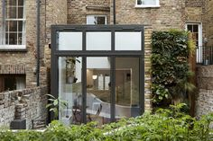 Danbury Street - Our clients approached us soon after purchasing their house in order to design a rear extension and re-design the lower ground and New York Townhouse, Self Build Houses, New York Homes, House Extensions, Windows And Doors, A Boutique, Curb Appeal, Interior And Exterior, Facade