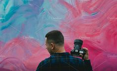 Photographer and Street Art by Pro.Motion on @creativemarket art, street, camera, wall, graffiti, city, young, photography, people, color, photographer, painting, photo, urban, image, spray, lifestyle, background, berlin, photograph, abstract, tourist, bright, horizontal, culture, colors, screen, life, beautiful, travel, outdoor, women, nobody, creative, tourism, woman, design, picture, paint, yellow, style, concept, person, orange, close-up, building, men, dirty, purple