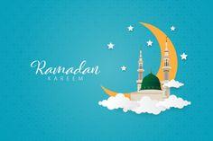 Ramadan Kareem With Prophet Muhammad Mosque, Nabawi Mosque. Eid Mubarak Background, Ramadan Background, Festival Background, New Years Background, Pink Mosque, Happy Islamic New Year, Happy Muharram, Islamic Cartoon, Eid Al Fitr