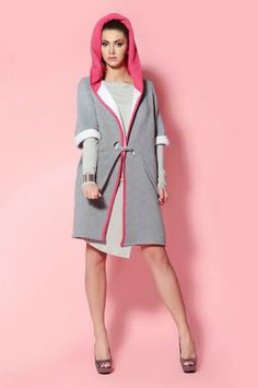 Check out our jackets & coats selection for the very best in unique or custom, handmade pieces from our shops. High Neck Dress, Dresses For Work, Model, Candy, Coats, Style, Fashion, Turtleneck Dress, Swag