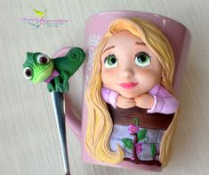 1 million+ Stunning Free Images to Use Anywhere Polymer Clay Disney, Polymer Clay Kawaii, Fimo Clay, Polymer Clay Projects, Polymer Clay Art, Clay Jar, Clay Mugs, Coffee Cup Crafts, Cute Mug