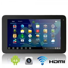 "10.1"" Capacitive Touch Screen Android 4.0 4GB Tablet PC with Camera Wifi HDMI Black.  Click on the Tmart link on MomTheShopper.com"