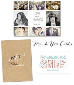 thank you cards wedding