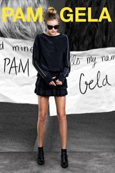 Pam & Gela Fall 2014 Ready-to-Wear Collection Slideshow on Style.com