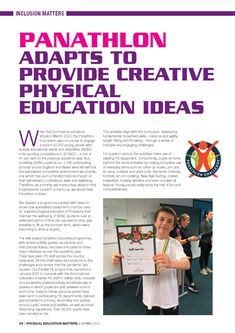 Panathlon appeared in the spring edition of AfPE's 'Physical Education Matters' magazine. Physical Education, Young People, Curriculum, Physics, Foundation, Magazine, Activities, Spring, Resume