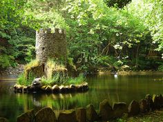 Tower on Island in Stream, France?