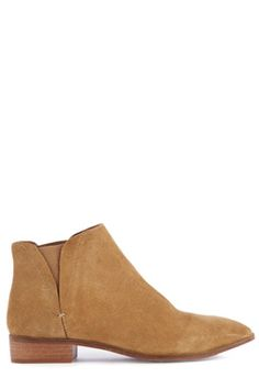This pair of low cut ankle boots feature a suede upper, elasticated inserts, almond toe and low heel. All sizes are EU sizes. See size guide for conversions.Fabric: Sole: 100.0% Rubber. Upper: 100.0% Leather.Wash care: Do Not CleanProduct code: 02394105 Price: £55.00
