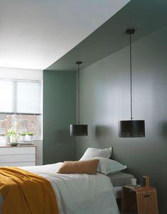 55 Modern Scandinavian Interior Designs and Ideas, Home Decor, modern grey Scandinavian bedroom. Bedroom Lamps, Bedroom Lighting, Home Bedroom, Master Bedroom, Bedroom Decor, Budget Bedroom, Wall Lamps, Bedroom Ideas, Design Bedroom
