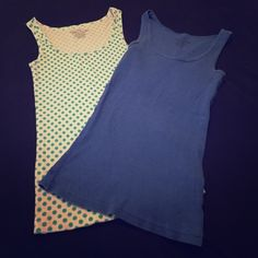 Tank top bundle Two tank tops. EUC. Very comfortable. Faded Glory Tops Tank Tops