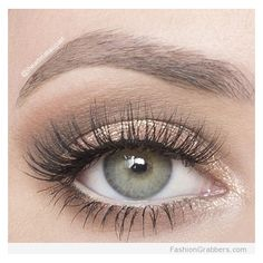 10 Great Eye Makeup Looks for Green Eyes ❤ liked on Polyvore featuring beauty products